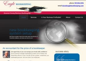 Bookkeeper Web Design