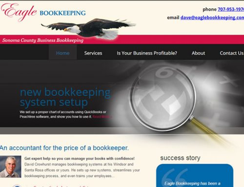 Bookkeeper Web Design