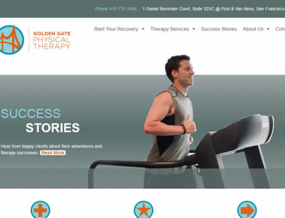 Physical Therapy Web Design