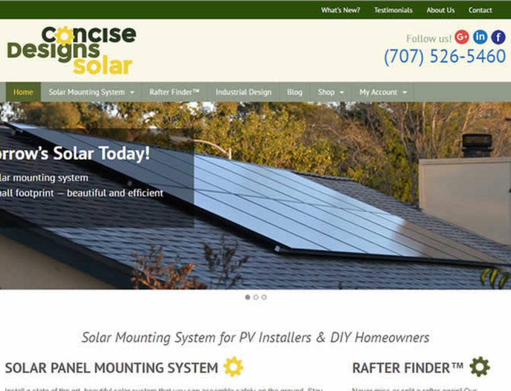 Solar Web Design