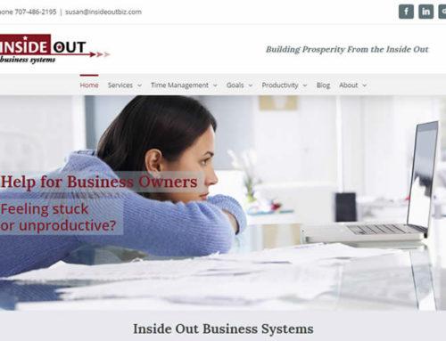 Business Coach Web Design