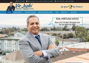 mortgage consultant web design