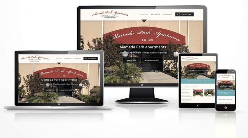 apartment community web design