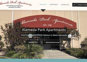 apartment housing web design