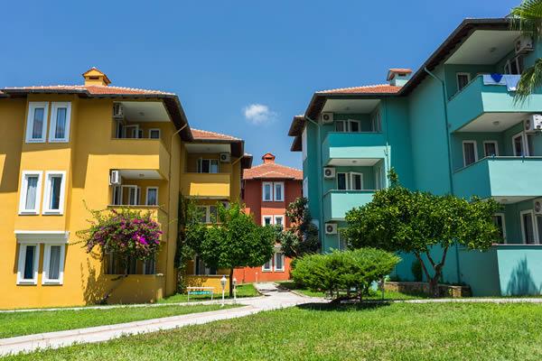apartment housing website design