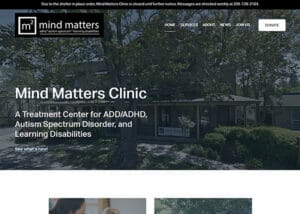Treatment Center Web Design