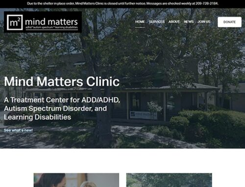 Treatment Center Web Design