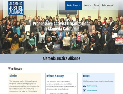 Advocacy Group Web Design